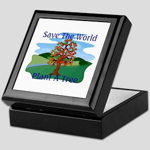 Plant A Tree Keepsake Box