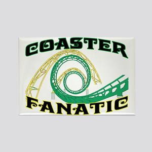 Coaster Fanatic Rectangle Magnet
