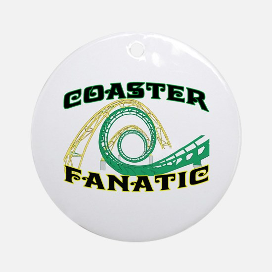 Coaster Fanatic Ornament (Round)