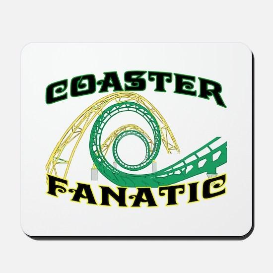 Coaster Fanatic Mousepad