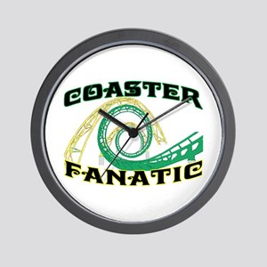 Coaster Fanatic Wall Clock