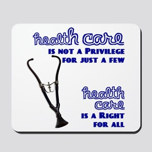 For Health Care Reform Mousepad