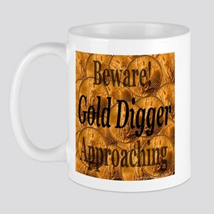 Gold Digger Approaching Mug