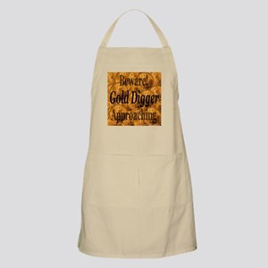 Gold Digger Approaching BBQ Apron
