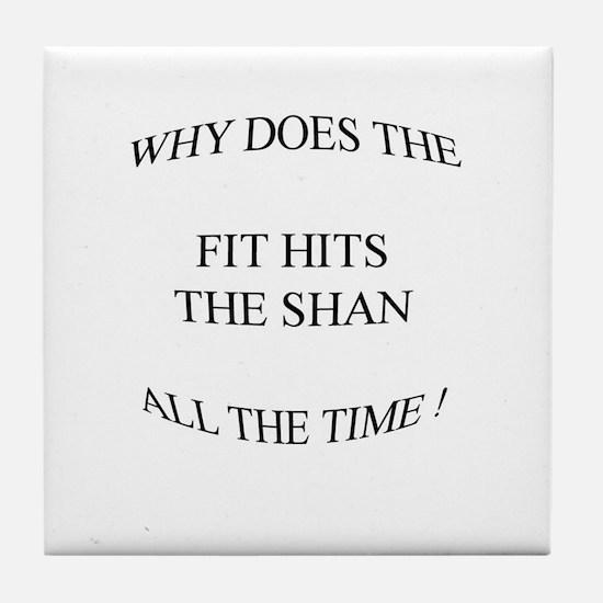 Shit hits the fan... Tile Coaster