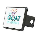 The Goat Whisperer Hipster Goat by GetYerGoat Hitc