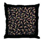 Throw Pillow with Kyriosity Doodle