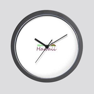 Hawaii Souvenior Wall Clock