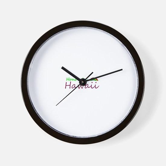 Hawaii Souvenior Wall Clock