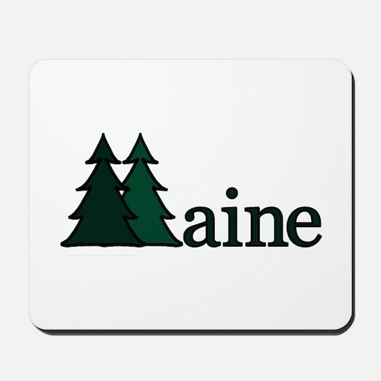 Maine Pine Tree Mousepad