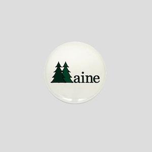 Maine Pine Tree Mini Button