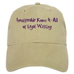 Insufferable Know-It-All! Cap