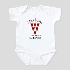 Beer Pong Infant Bodysuit