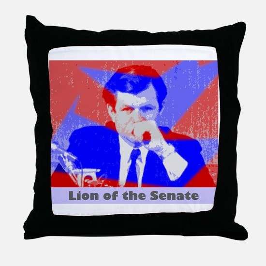 Kennedy Lion Throw Pillow