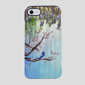 Purple Wisteria Springtime iPhone 7 Tough Case