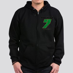 Team Morocco - #7 Zip Hoodie (dark)