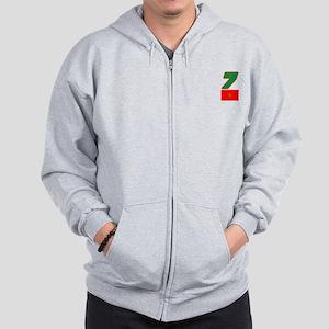 Team Morocco - #7 Zip Hoodie