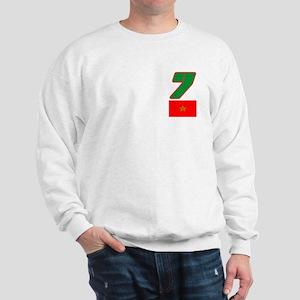 Team Morocco - #7 Sweatshirt