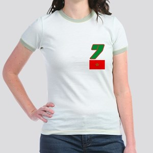 Team Morocco - #7 Jr. Ringer T-Shirt