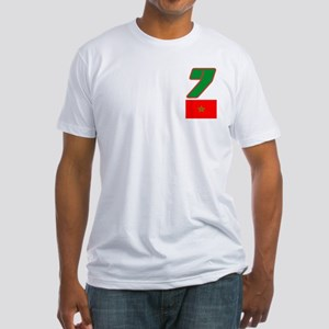 Team Morocco - #7 Fitted T-Shirt