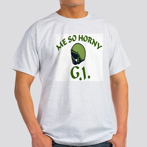 ME SO HORNY Ash Grey T-Shirt