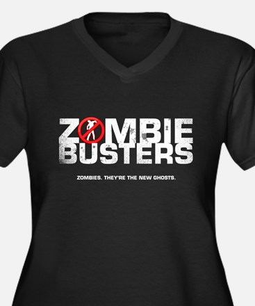 Cute 28 days later Women's Plus Size V-Neck Dark T-Shirt