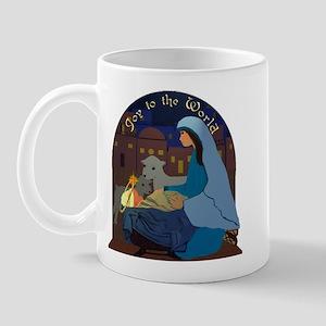 Mary and Baby Jesus Nativity Mug