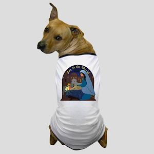 Mary and Baby Jesus Nativity Dog T-Shirt