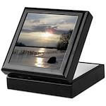 Winter Sunset 0004 Keepsake Box
