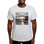 Winter Sunset 0004 Ash Grey T-Shirt