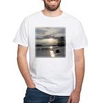 Winter Sunset 0004 White T-Shirt