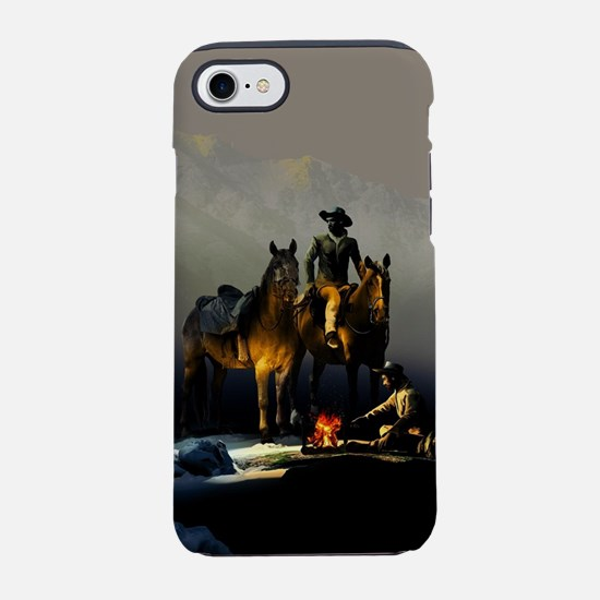 Cowboys and Horses iPhone 7 Tough Case