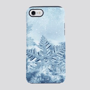 Snowflake Crystals iPhone 7 Tough Case