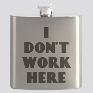 I Don't Work Here Flask