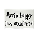 Accio happy law students! Rectangle Magnet