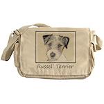 Russell Terrier Rough Messenger Bag