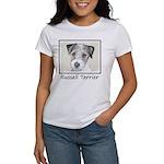 Russell Terrier Roug Women's Classic White T-Shirt