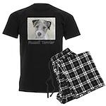 Russell Terrier Rough Men's Dark Pajamas