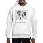 Russell Terrier Rough Hooded Sweatshirt