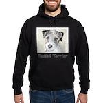 Russell Terrier Rough Hoodie (dark)