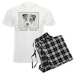 Russell Terrier Rough Men's Light Pajamas
