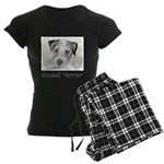 Russell Terrier Rough Women's Dark Pajamas