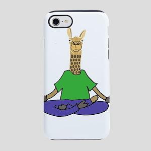 Llama Yoga iPhone 7 Tough Case