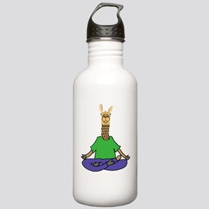 Llama Yoga Stainless Water Bottle 1.0L