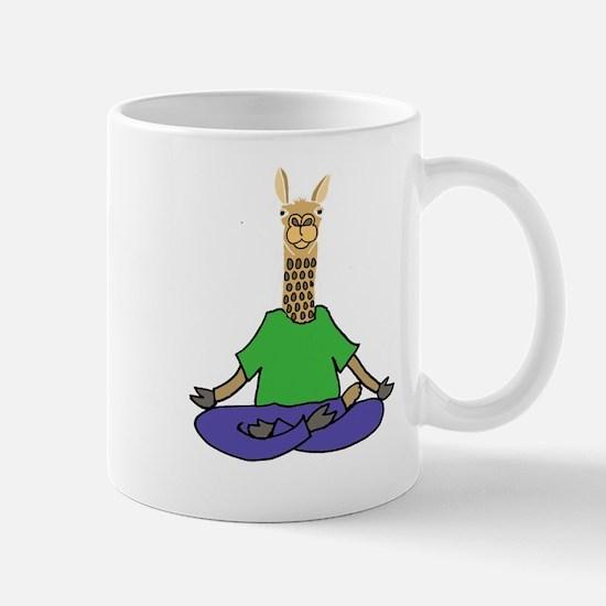 Llama Yoga Mugs