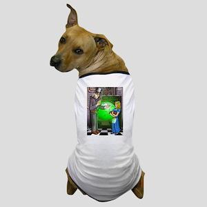 SteamPunk Alice Version 1 Dog T-Shirt