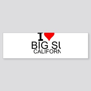 I Love Big Sur, California Bumper Sticker
