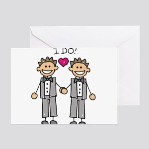 Gay Marriage - I Do Greeting Cards