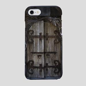 Gothic Spooky Door iPhone 7 Tough Case