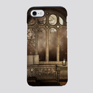 Gothic Library Window iPhone 7 Tough Case